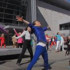 """OFFICIAL """"PANTSUIT POWER"""" FLASH MOB FOR HILLARY"""